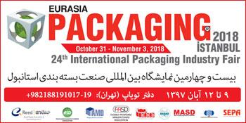 نمایشگاه بسته بندی ترکیه 2018