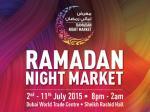 جشنواره و بازار شبانه رمضان 2015 دبی امارات
