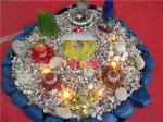 دهمین نمایشگاه سفره هفت سین ، گل آرایی ، تزئینات منزل - شیراز 96