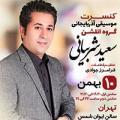 کنسرت سعید شربیانی ؛تهران - بهمن 97
