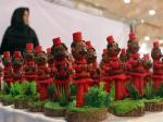 نمایشگاه سفره هفت سین ، گل آرایی ، تزئینات منزل ؛شیراز - اسفند 97