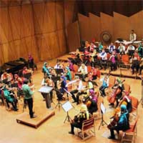 کنسرت ارکستر نوجوانان ایران