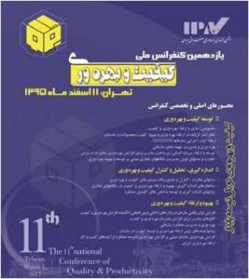 یازدهمین کنفرانس ملی کیفیت و بهره وری