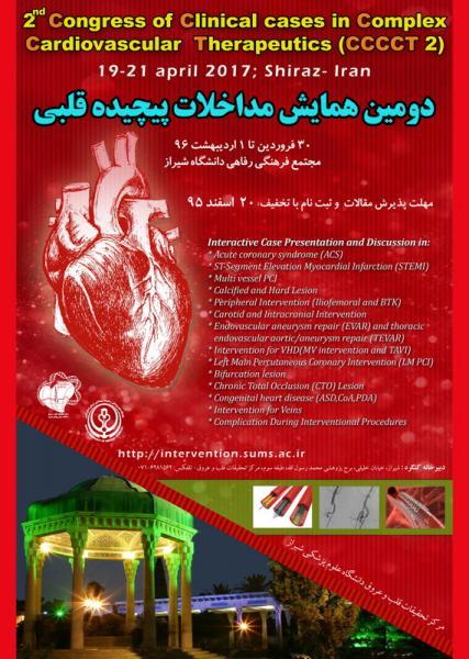 دومین همایش مداخلات پیچیده قلبی