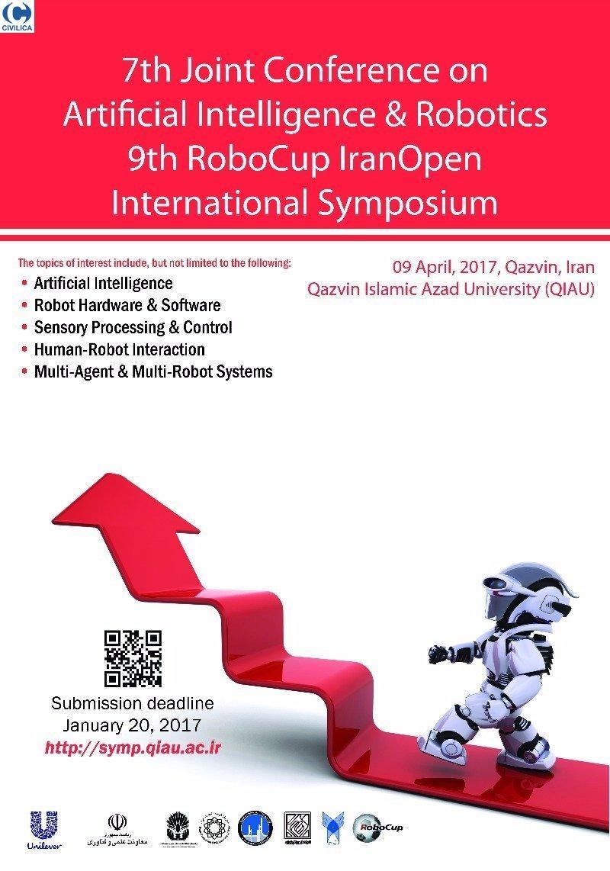 هفتمین کنفرانس هوش مصنوعی و رباتیک و نهمین سمپوزیوم بین المللی ربوکاپ آزاد ایران 2017