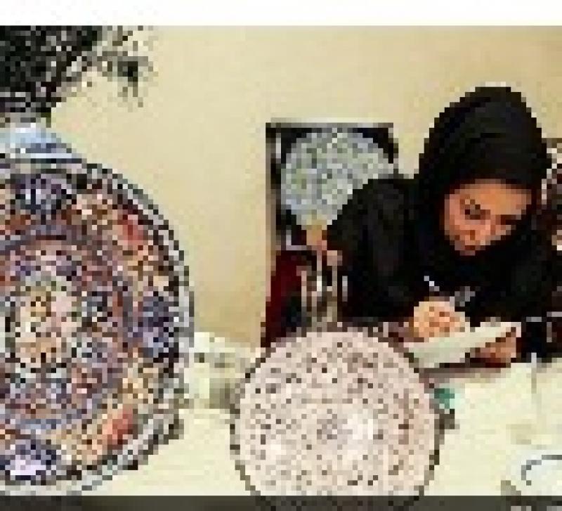 دهمین نمایشگاه سوغات ، هدایا و هنرهای دستی بانوان - شیراز 96