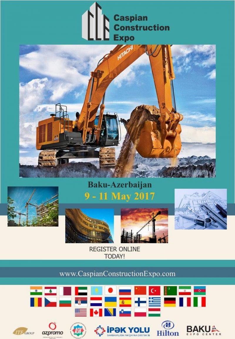 اولین نمایشگاه بین المللی ساخت و ساز کاسپین ,باکو - آذربایجان