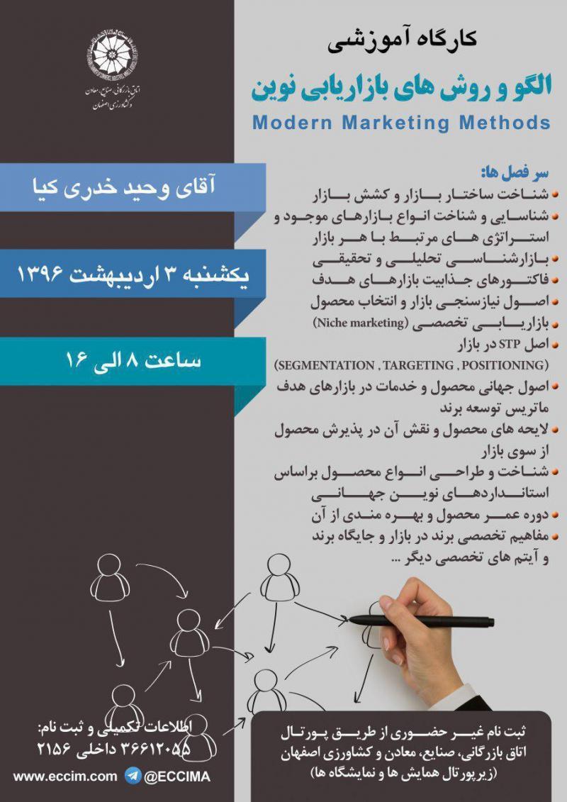 کارگاه آموزشی الگو و روشهای بازاریابی نوین