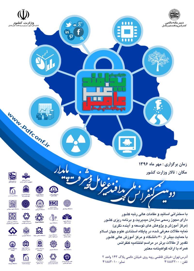 دومین کنفرانس ملی پدافند غیرعامل و توسعه پایدار
