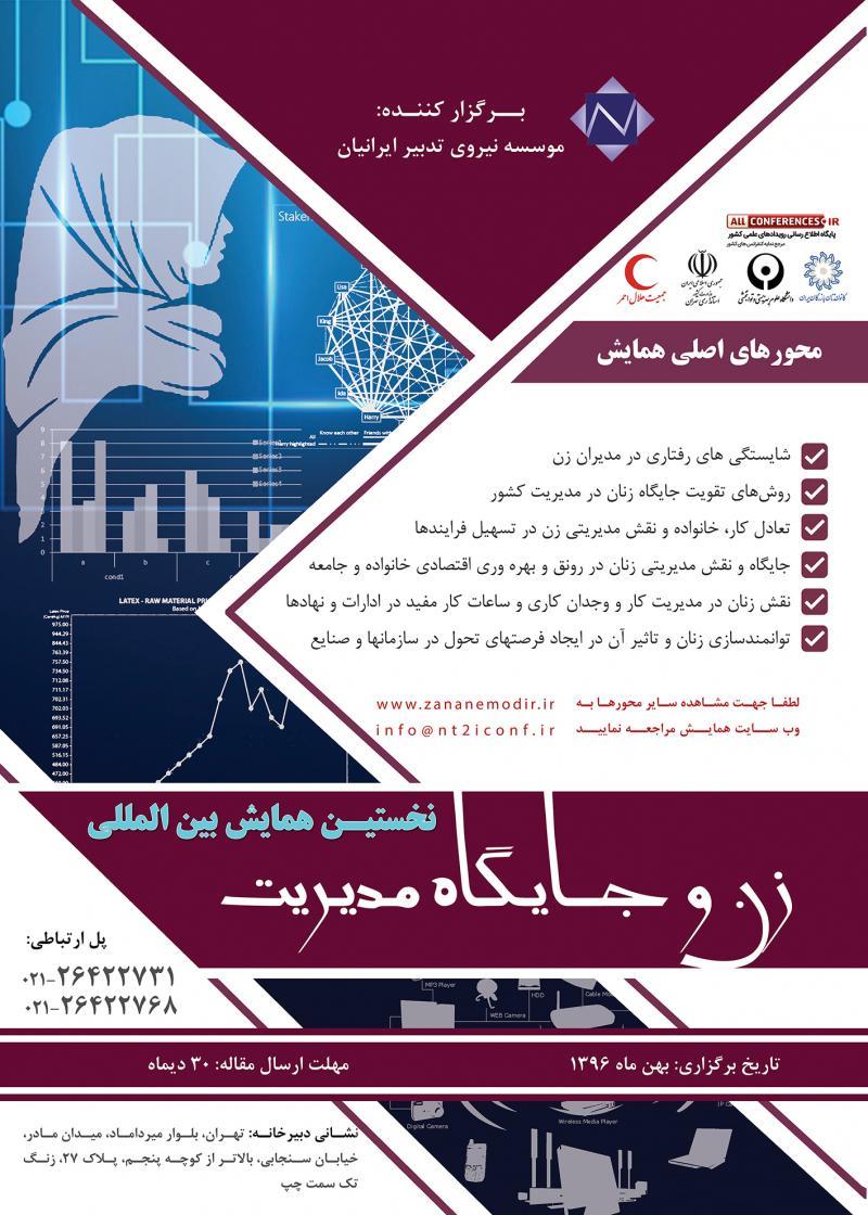 همایش بین المللی زن و جایگاه مدیریت