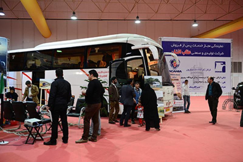 نمایشگاه حمل و نقل ، ترانزیت و خدمات گمرکی ؛استان گلستان - 96
