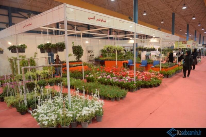 هفتمین نمايشگاه تخصصي گل و گياه و صنايع وابسته ، مبلمان فضای باز و خدمات شهري گلستان - 96