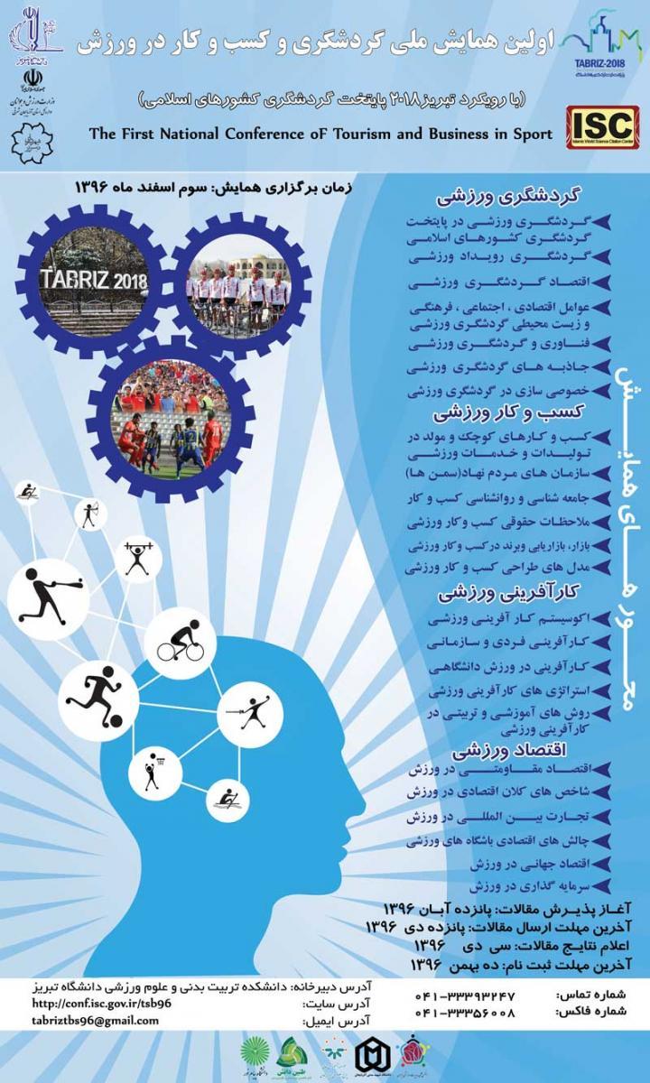 اولین همایش ملی گردشگری و کسب و کار در ورزش - 96