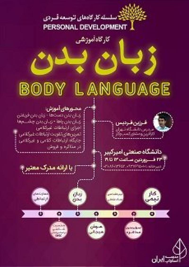 کارگاه آموزشی زبان بدن ؛تهران - فروردین 97