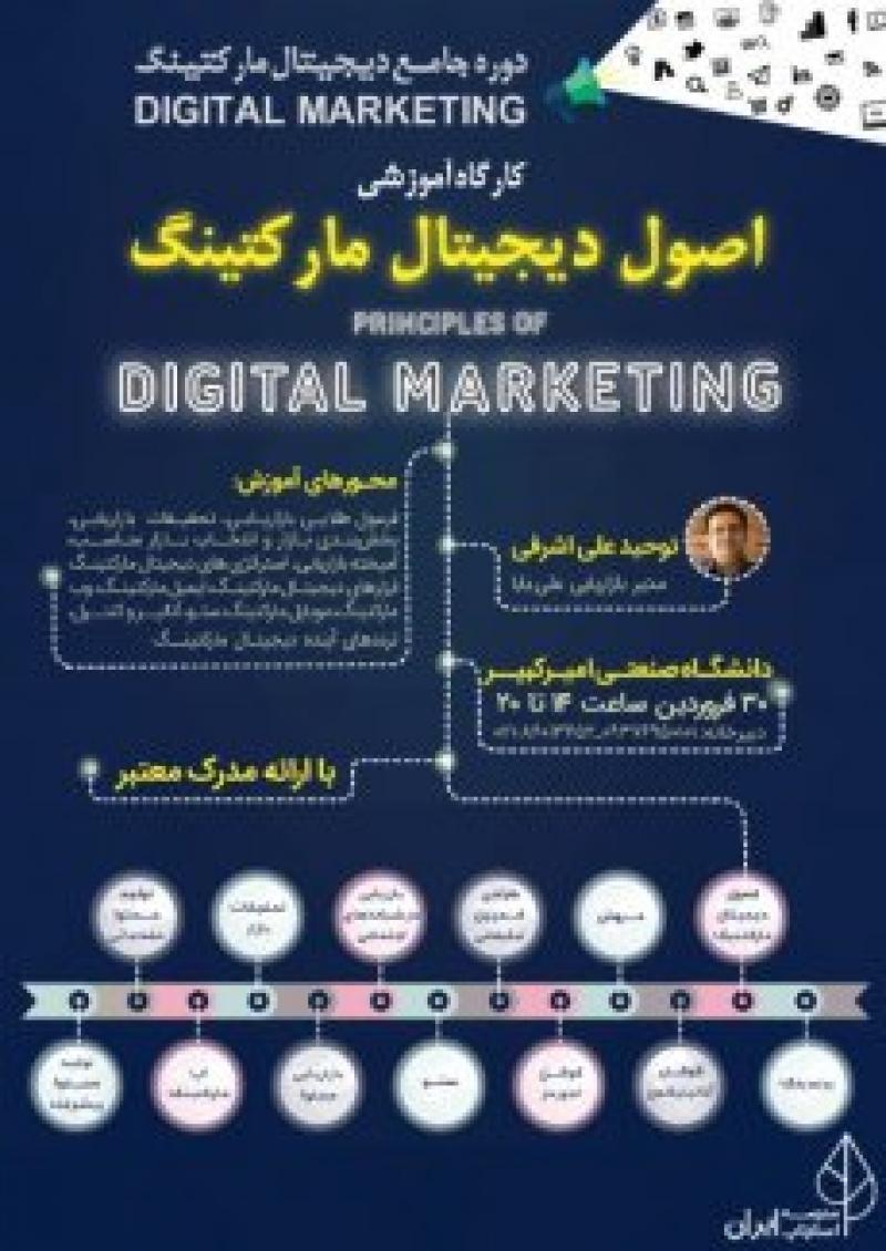 کارگاه اصول دیجیتال مارکتینگ؛تهران - فروردین 97