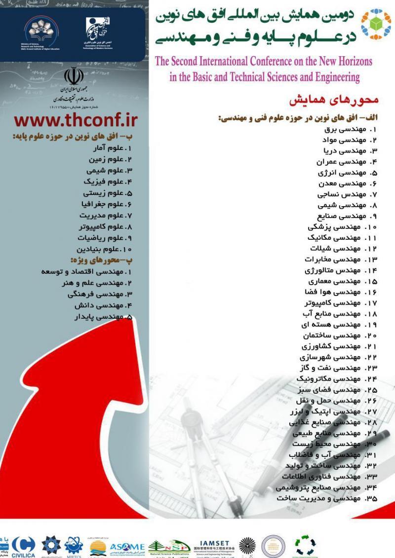 همایش بین المللی افق های نوین در علوم پایه و فنی و مهندسی ؛تهران - تیر 97