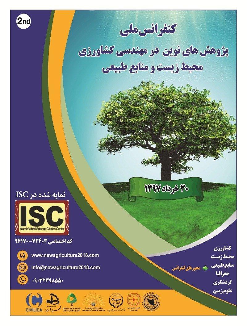 کنفرانس ملی پژوهشهای نوین در مهندسی کشاورزی، محیط زیست و منابع طبیعی ؛کرج - خرداد 97