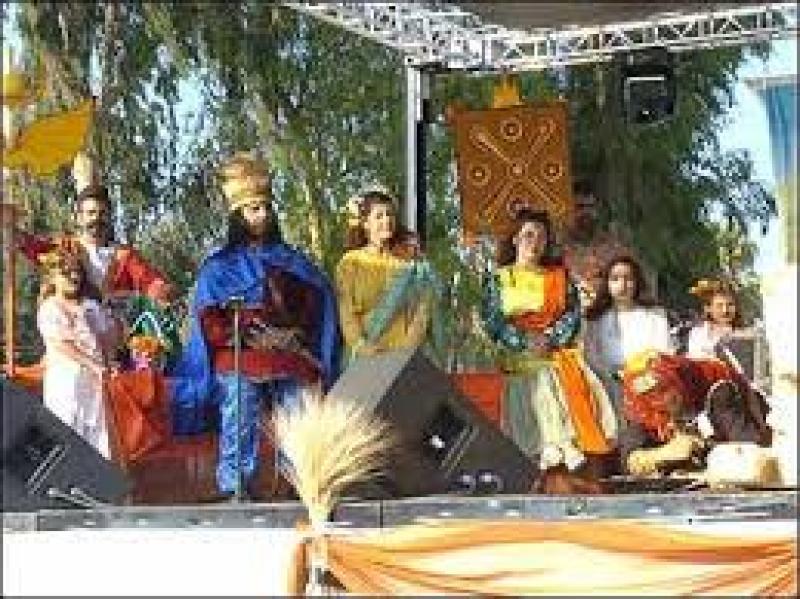 جشن آب پاشونک، جشن آغاز تابستان ایران تیر 97