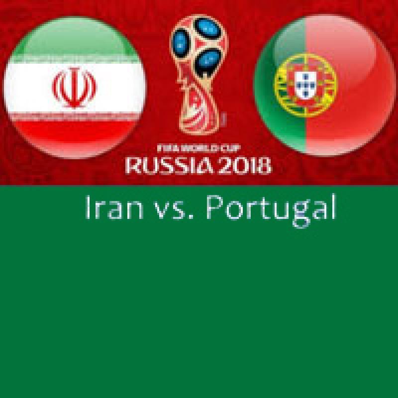پخش زنده مسابقه فوتبال ,پرتغال - ایران ؛تهران - تیر 97