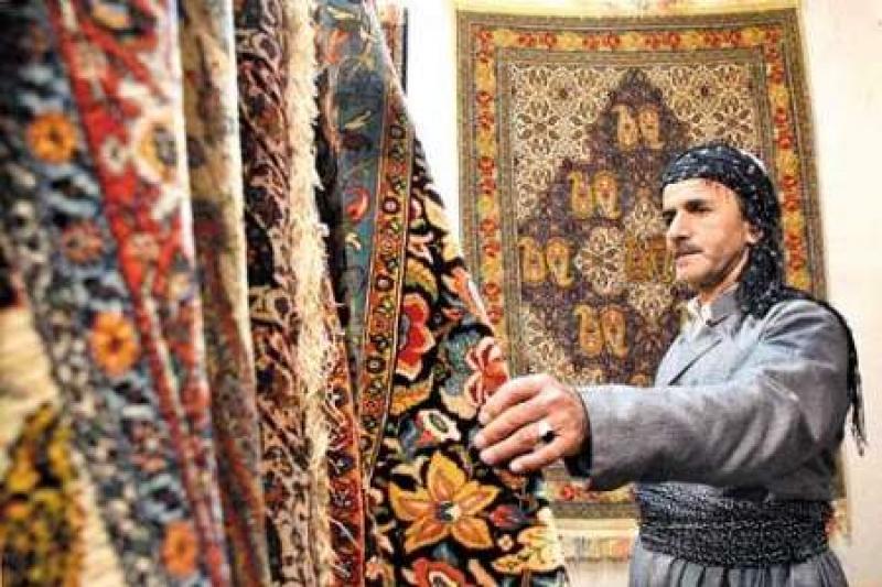 نمایشگاه فرش دستباف و تابلو فرش ؛ سنندج - بهمن 97