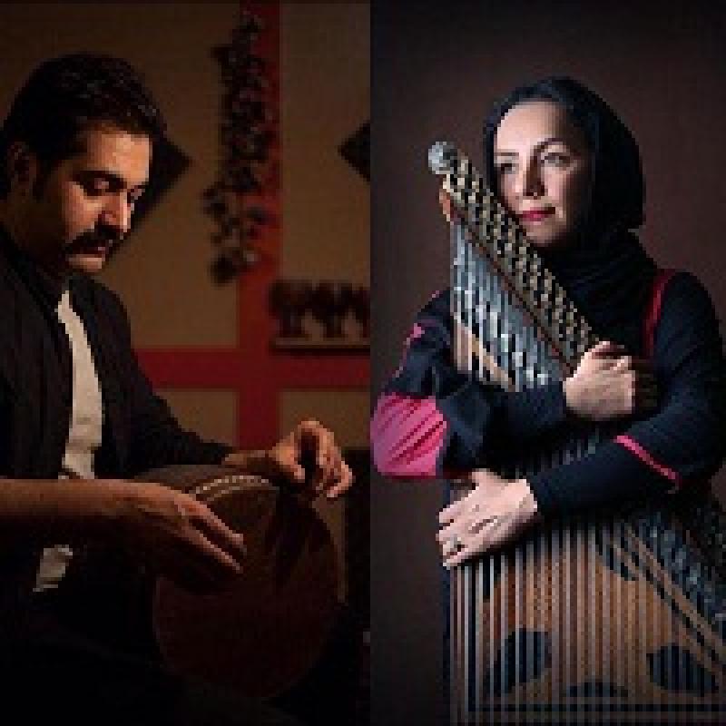 کنسرت دونوازی قانون و تنبک تهران ؛ آبادان  - بهمن 97
