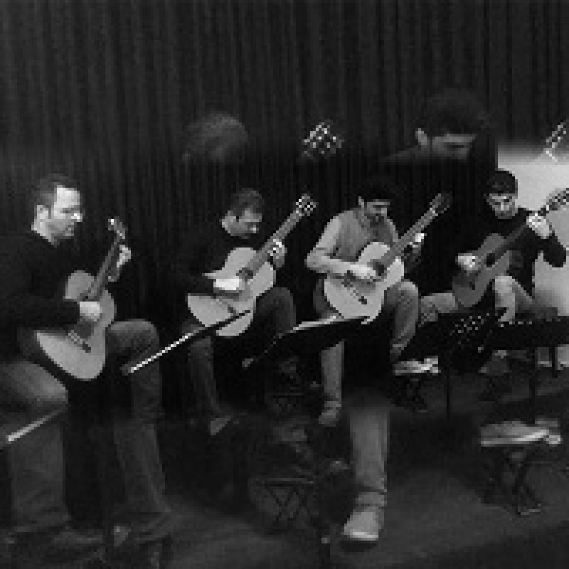 کنسرت کوارتت گیتار کلاسیک آمل ؛ خرمشهر  - بهمن 97
