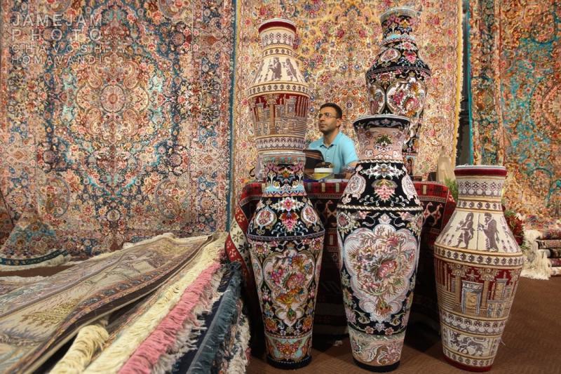 نمایشگاه فرش دستبافت ؛ تبریز - مرداد 98