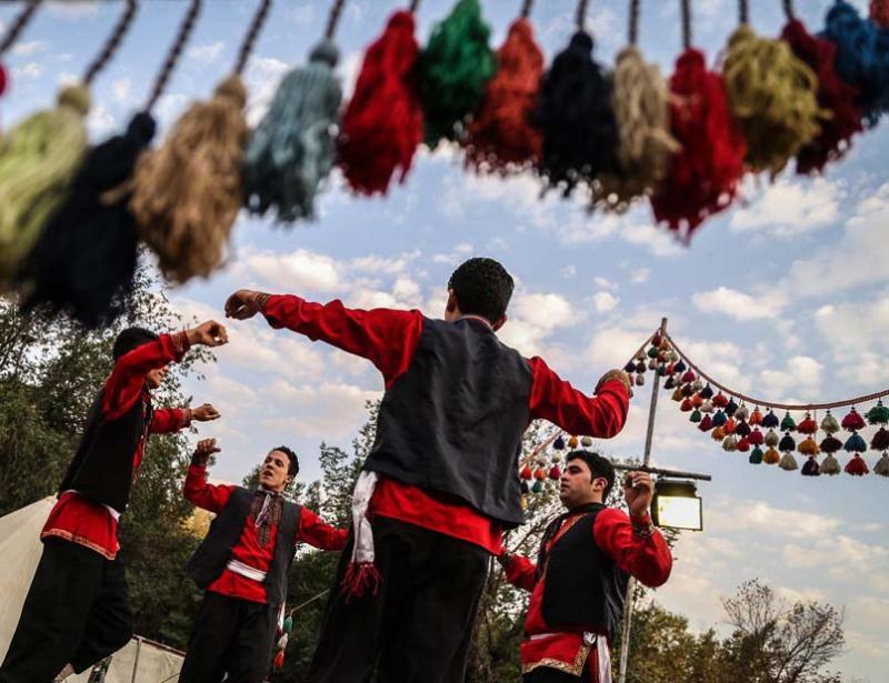نمایشگاه و جشنواره اقوام ایرانی و توانمندی های روستاییان کرمانشاه خرداد 98