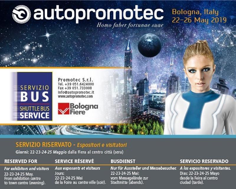 نمایشگاه قطعات و لوازم جانبی خودرو Autopromotec بولونیا ؛ایتالیا 2019 - خرداد 98