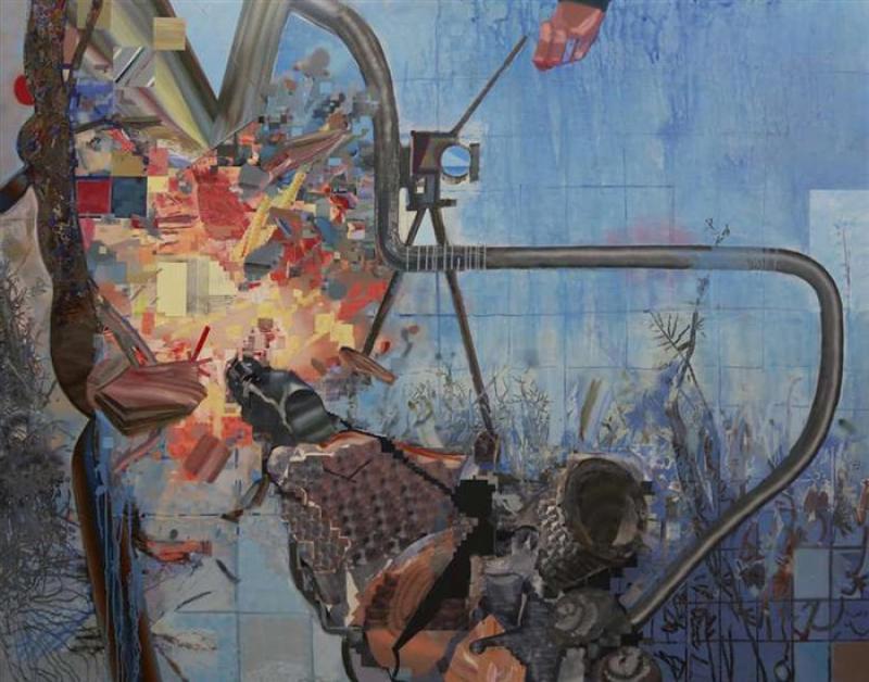 نمایشگاه دهانهی برخورد ؛تهران - اردیبهشت و خرداد 98