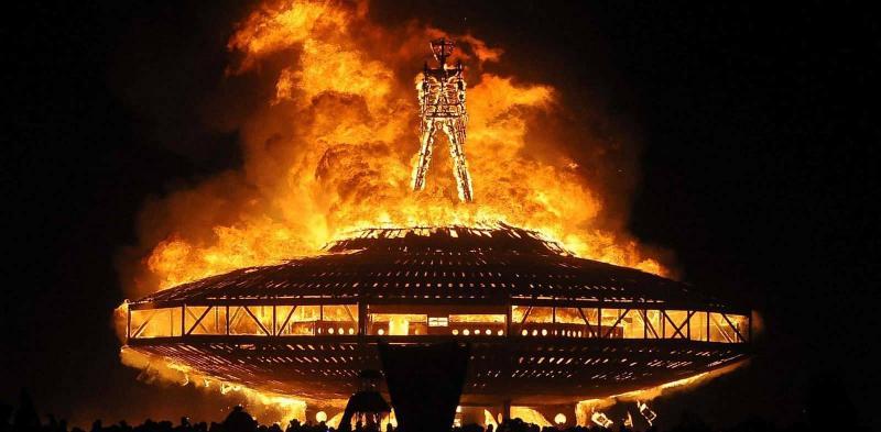 فستیوال برنینگ من (Burning Man) ؛آمریکا 2019 - شهریور 98