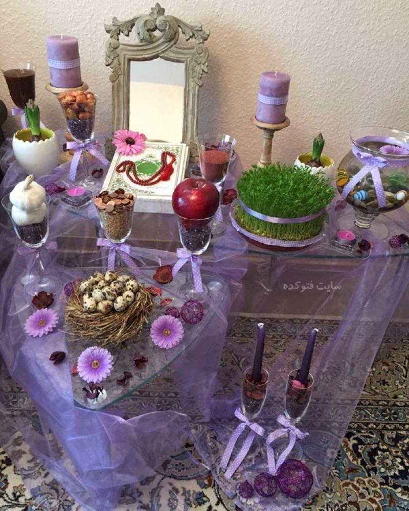 نمایشگاه سفره هفت سین ، گل آرایی ، تزئینات منزل ؛شیراز - اسفند 98