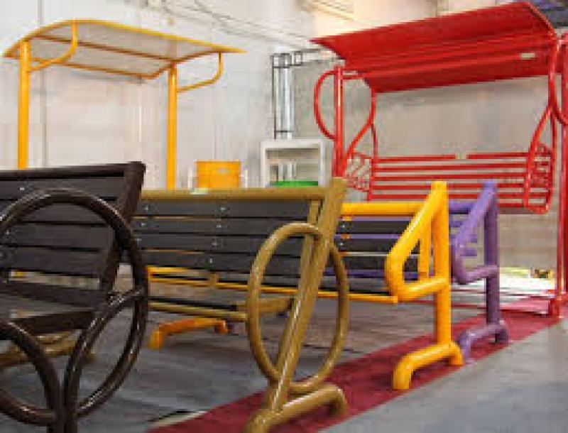 نمایشگاه مبلمان شهری و تجهیزات پارکی ؛ اهواز - آبان 98