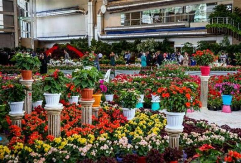 نمایشگاه گل و گیاه و سوغات؛ کرمانشاه - مرداد 98