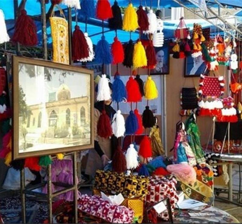 جشنواره اقوام ایرانی، سوغات و هدایا ؛خرم آباد - مرداد 98
