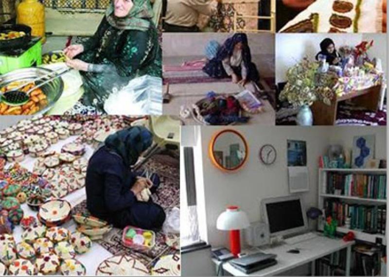 نمایشگاه بانوی ایرانی ، فرهنگ ایرانی (تولیدات خانگی، سفره آرایی، هنرهای دستی و...) ؛زنجان - مرداد 98