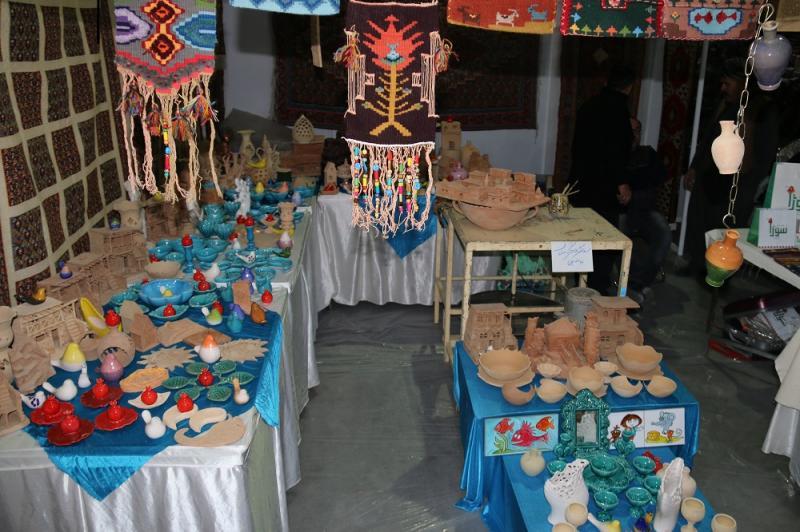 نمایشگاه توانمندی های محلی، روستایی و عشایری ؛اراک - مرداد 98