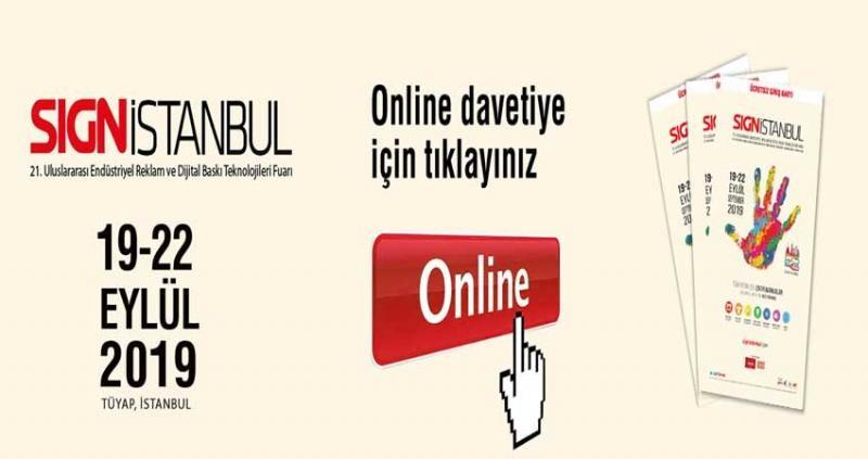 نمایشگاه صنعت تبلیغات و چاپ SIGN ISTANBUL ؛استانبول 2019 -  شهریور 98