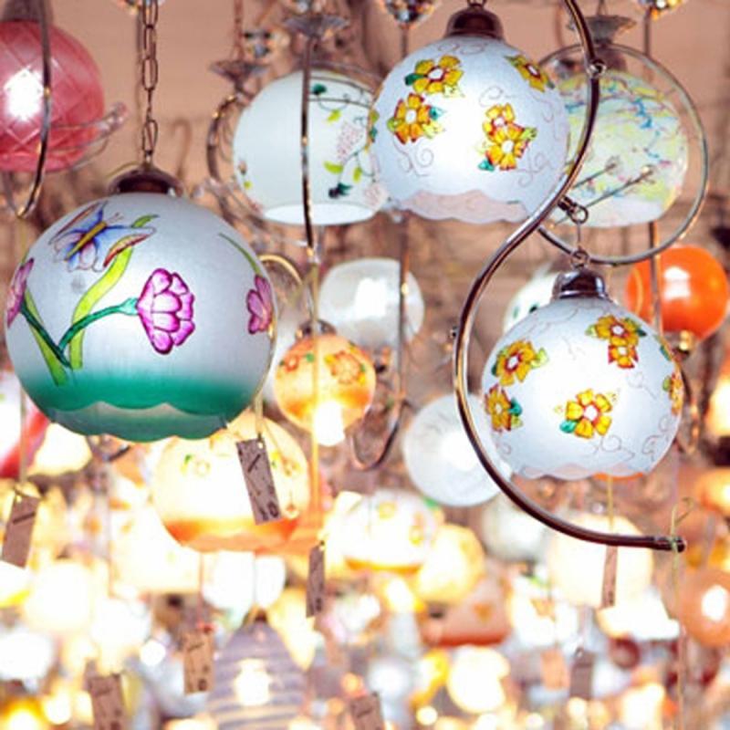 نمایشگاه لوستر، چراغ های تزئینی و نورپردازی ؛ زنجان - مهر 98