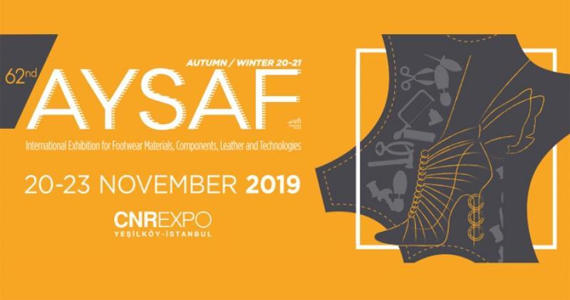 نمایشگاه کفش و چرم aysaf ؛استانبول 2019 - آبان و آذر 98