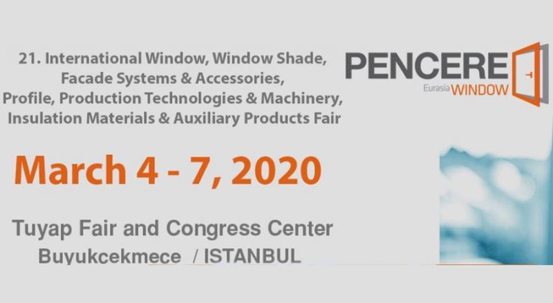 نمایشگاه در و پنجره و شیشه استانبول 2020 اسفند 98