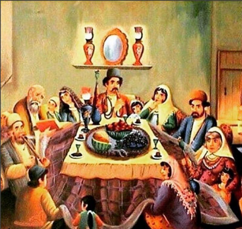 نمایشگاه و جشنواره شب یلدا و کرسی نشینی؛همدان - آذر و دی 98