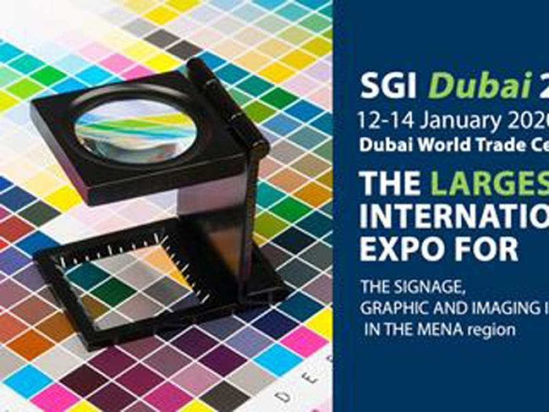 نمایشگاه چاپ دیجیتال و تابلوهای تبلیغاتی SGI دبی امارات 2020 دی 98