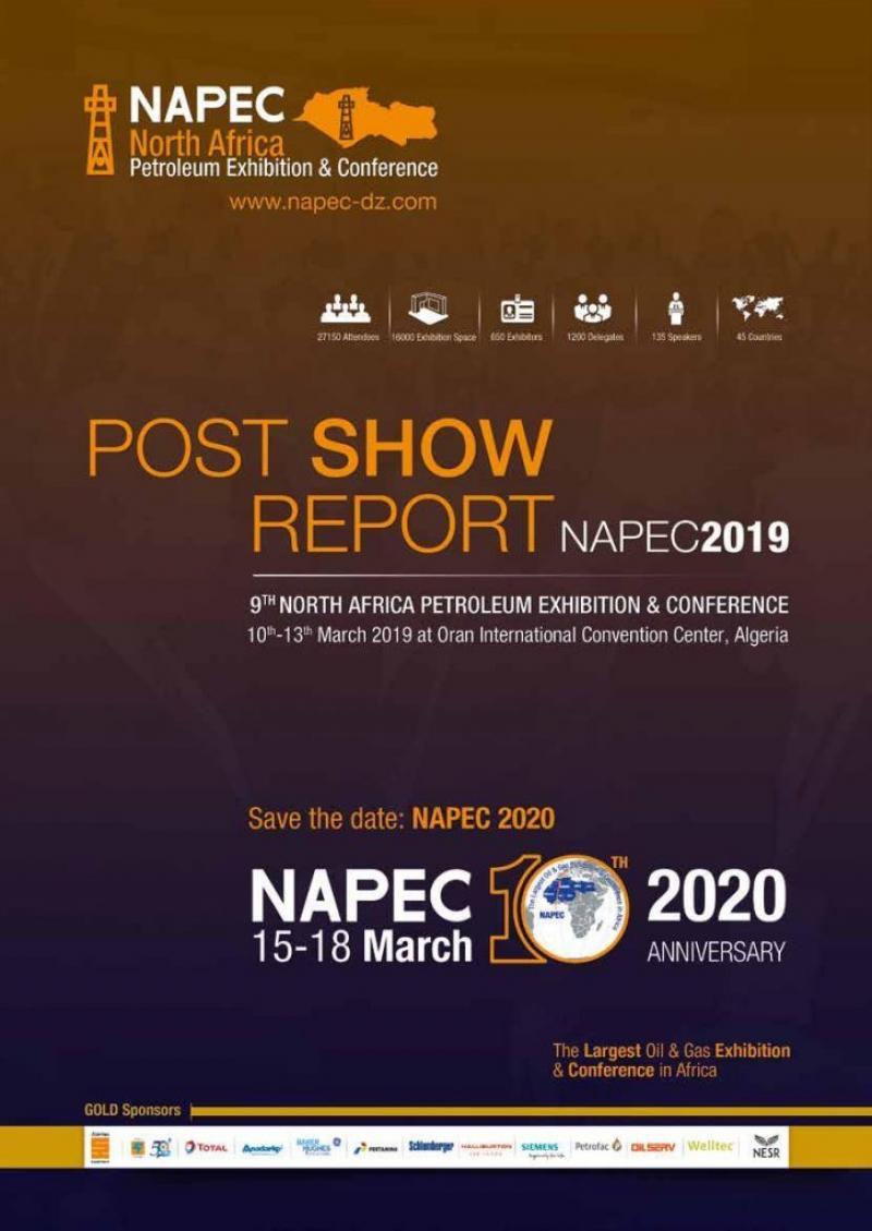 نمایشگاه نفت و گاز شمال آفریقا اوران ؛ الجزایر 2020  - اسفند 98