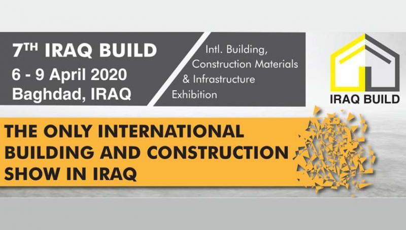 نمایشگاه ساختمان IRAGH BUILD بغداد ؛عراق 2020 - فروردین 99