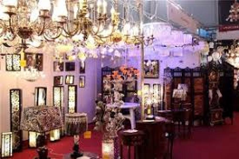 نمایشگاه لوستر و چراغ های تزیینی ؛اهواز - بهمن 98