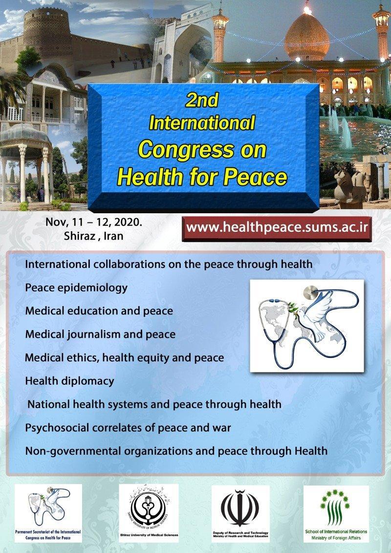 کنگره سلامت برای صلح ؛شیراز - آبان 99