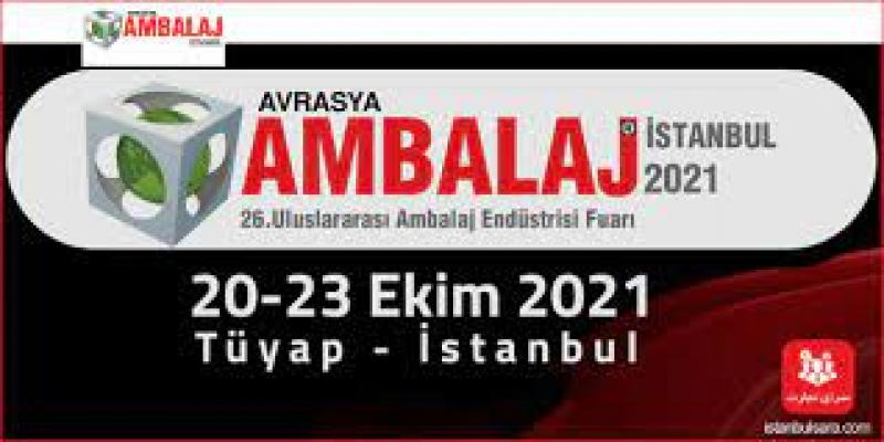 نمایشگاه بین المللی صنعت بسته بندی اوراسیا استانبول 2021
