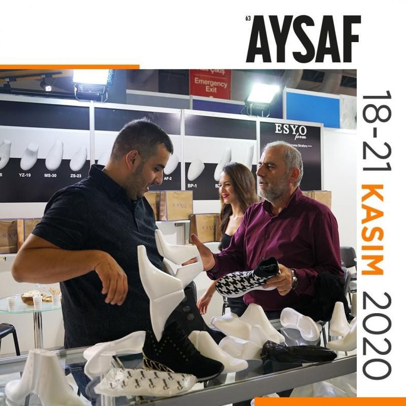 نمایشگاه کفش و چرم aysaf استانبول 2020