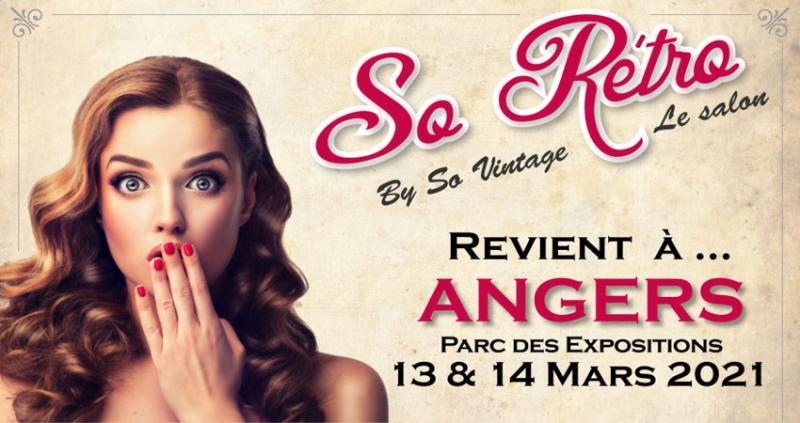 نمایشگاه مد؛ مبلمان و دکوراسیون SO VINTAGE – LA ROCHELLE فرانسه 2021